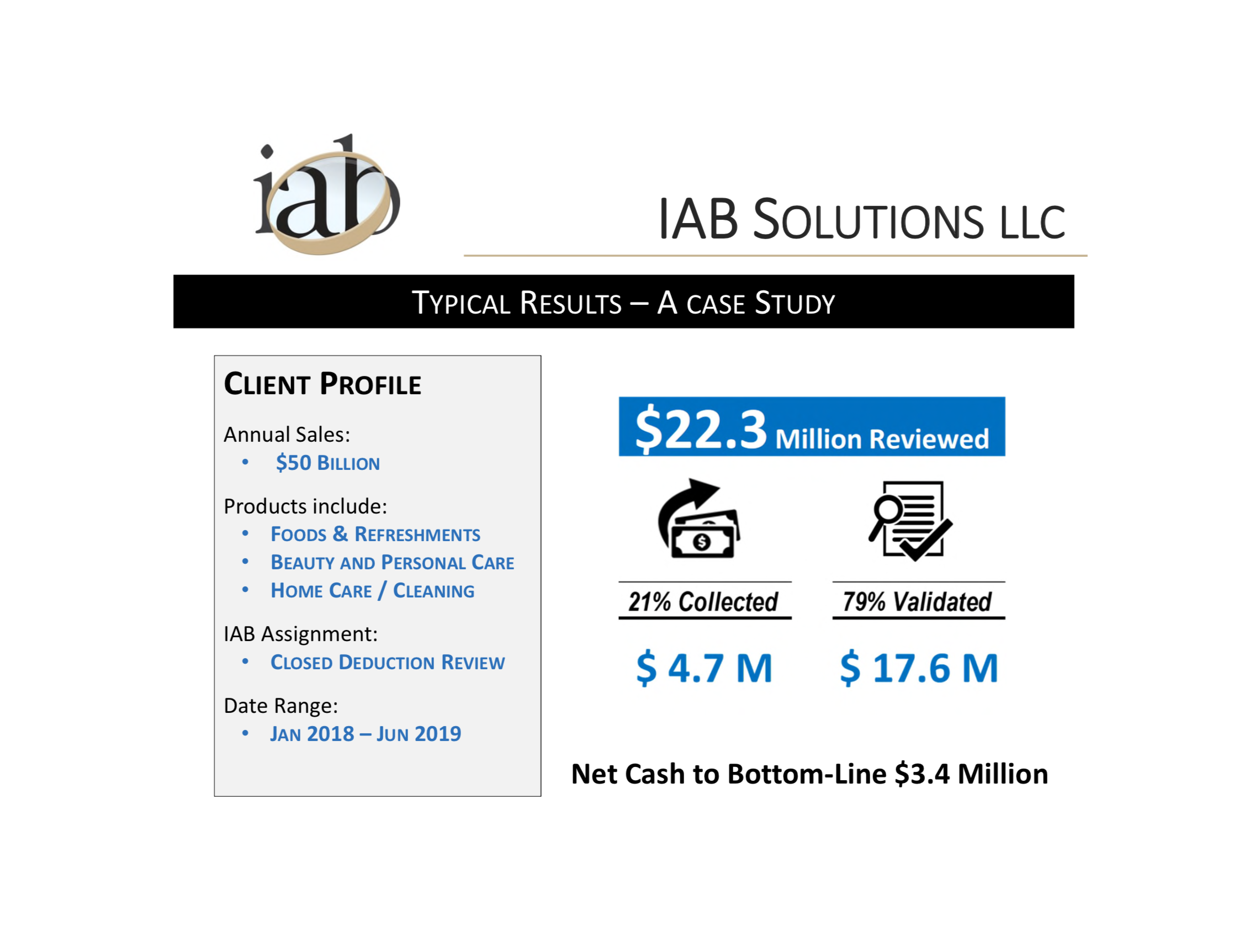 IAB Solutions - Case Study