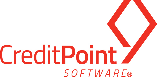 logo creditpoint bright red